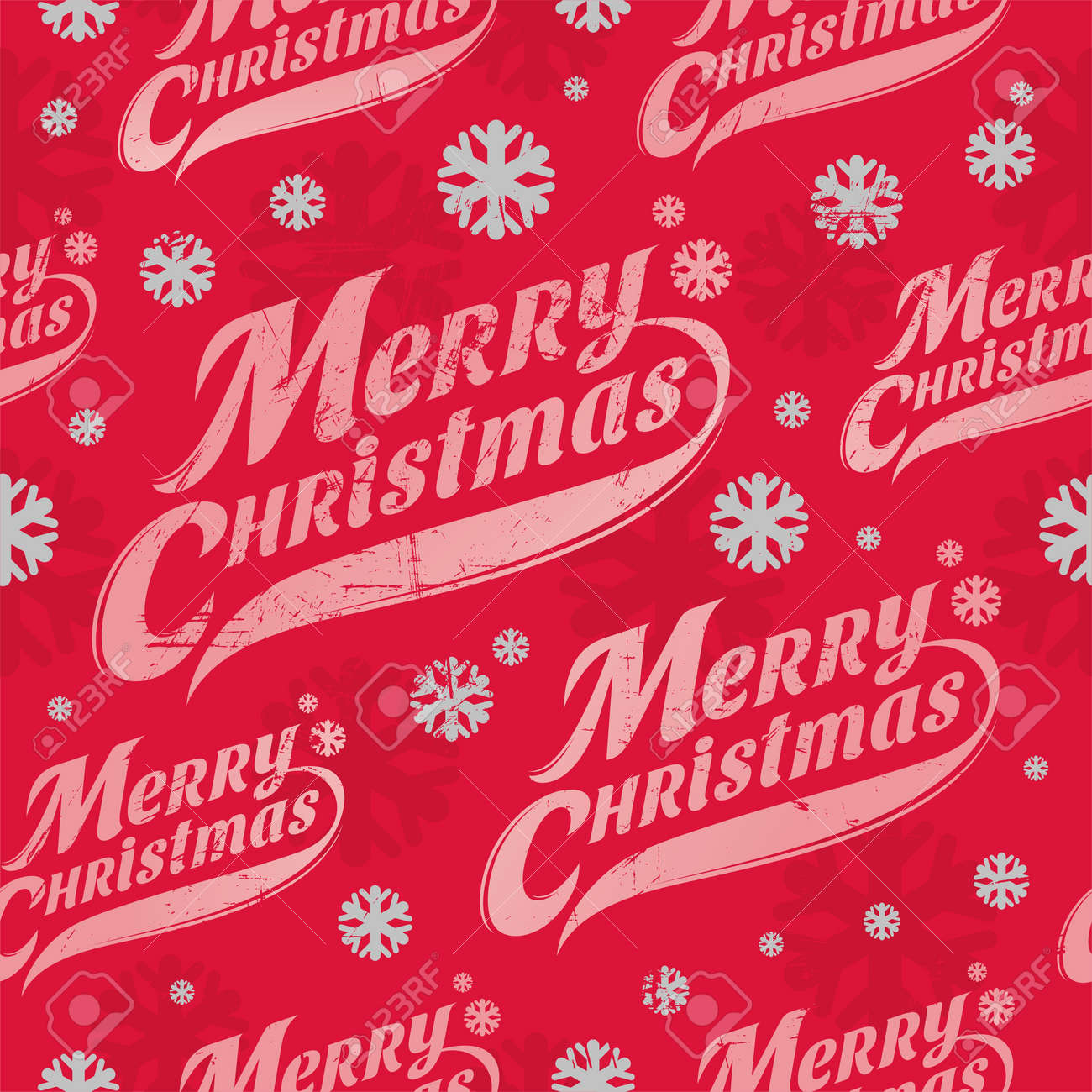Seamless vector background - Christmas wrapping paper Stock Vector - 15796799