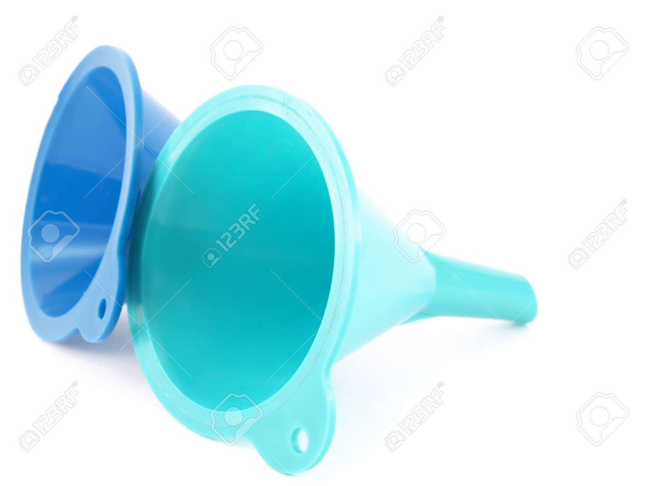 Two color funnels Stock Photo - 5874285