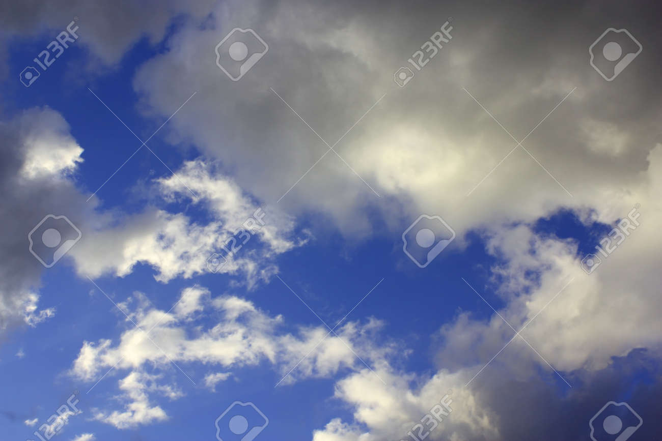 Dramatic sky with clouds Stock Photo - 9492557