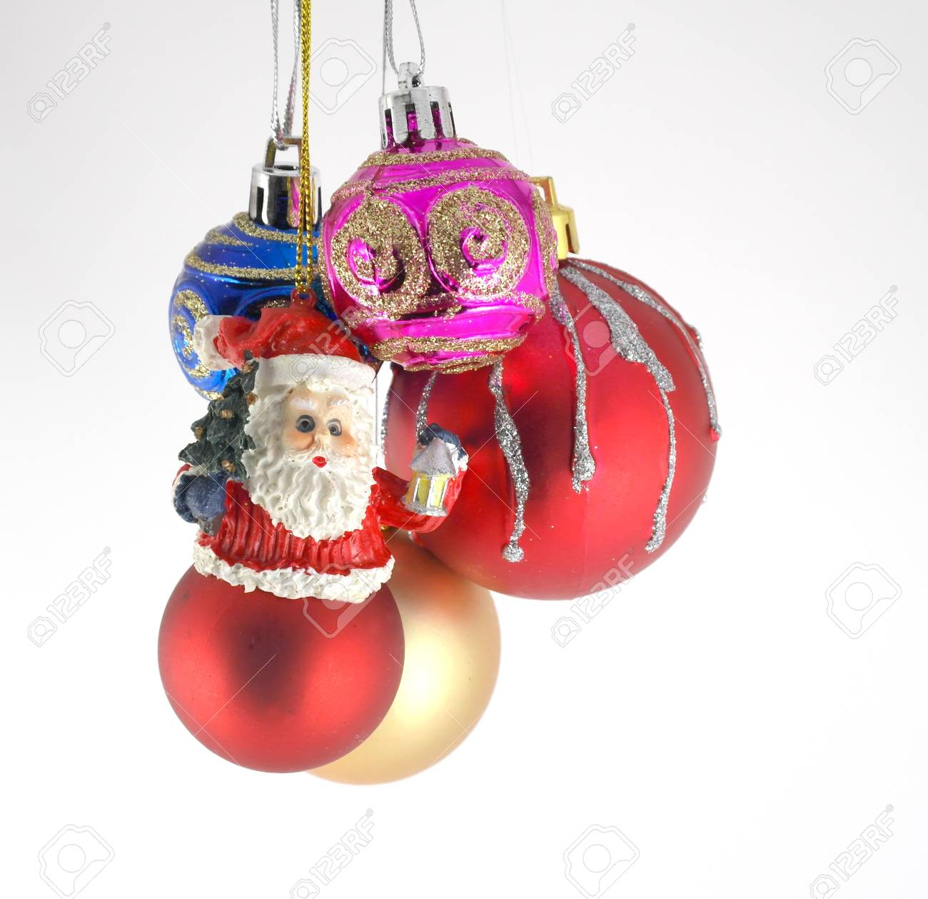Multicolor christmas balls Stock Photo - 11410077