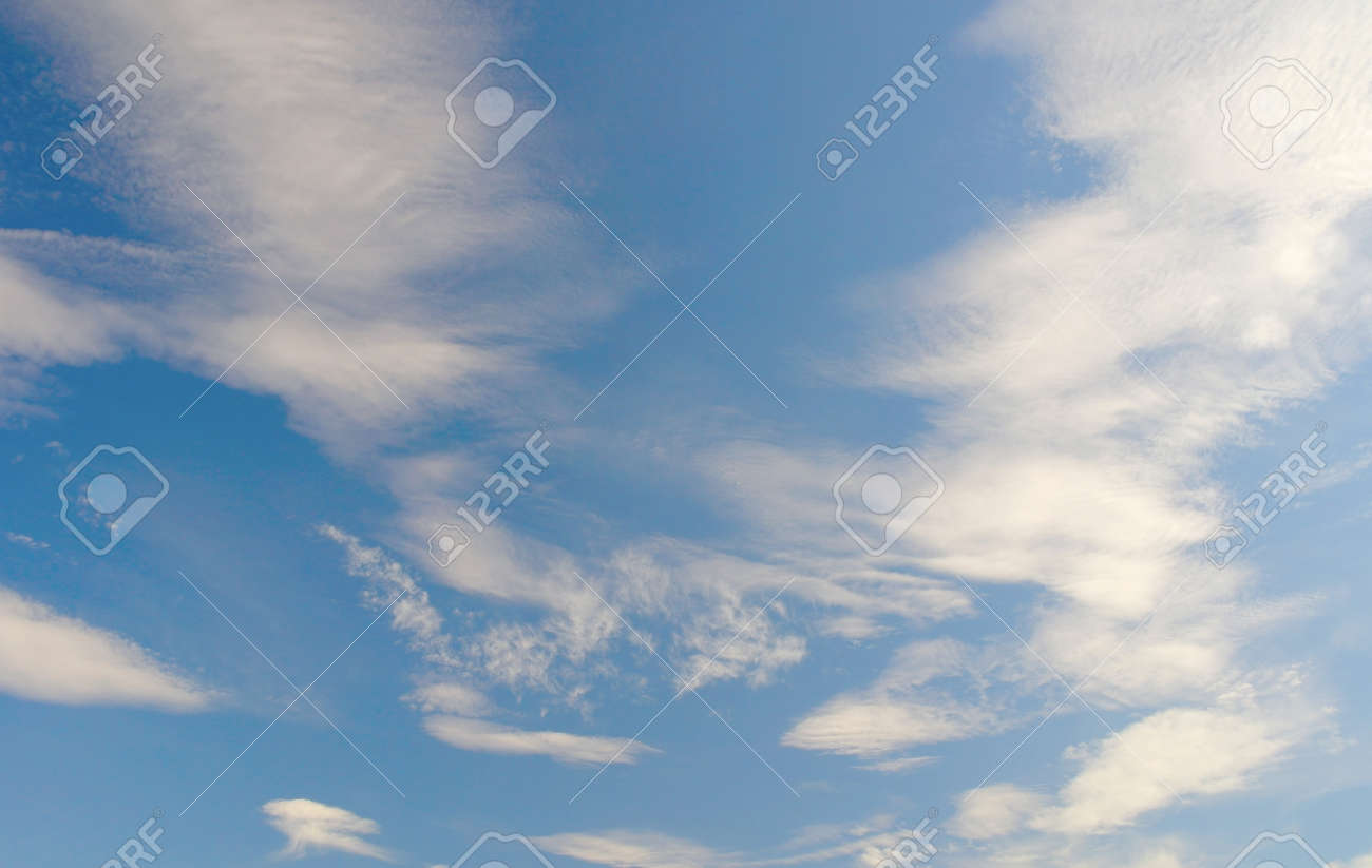 Beautiful blue sky with clouds Stock Photo - 18423153