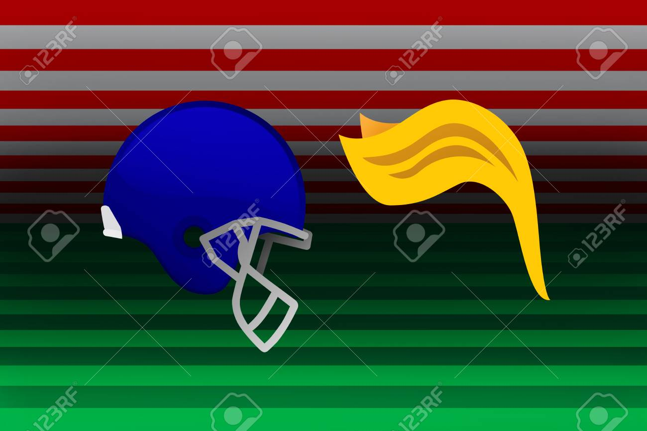USA, 25 September 2017 - NFL vs US football leadership and teams stand together against President Trump anthem stance. Stock Photo - 89387993
