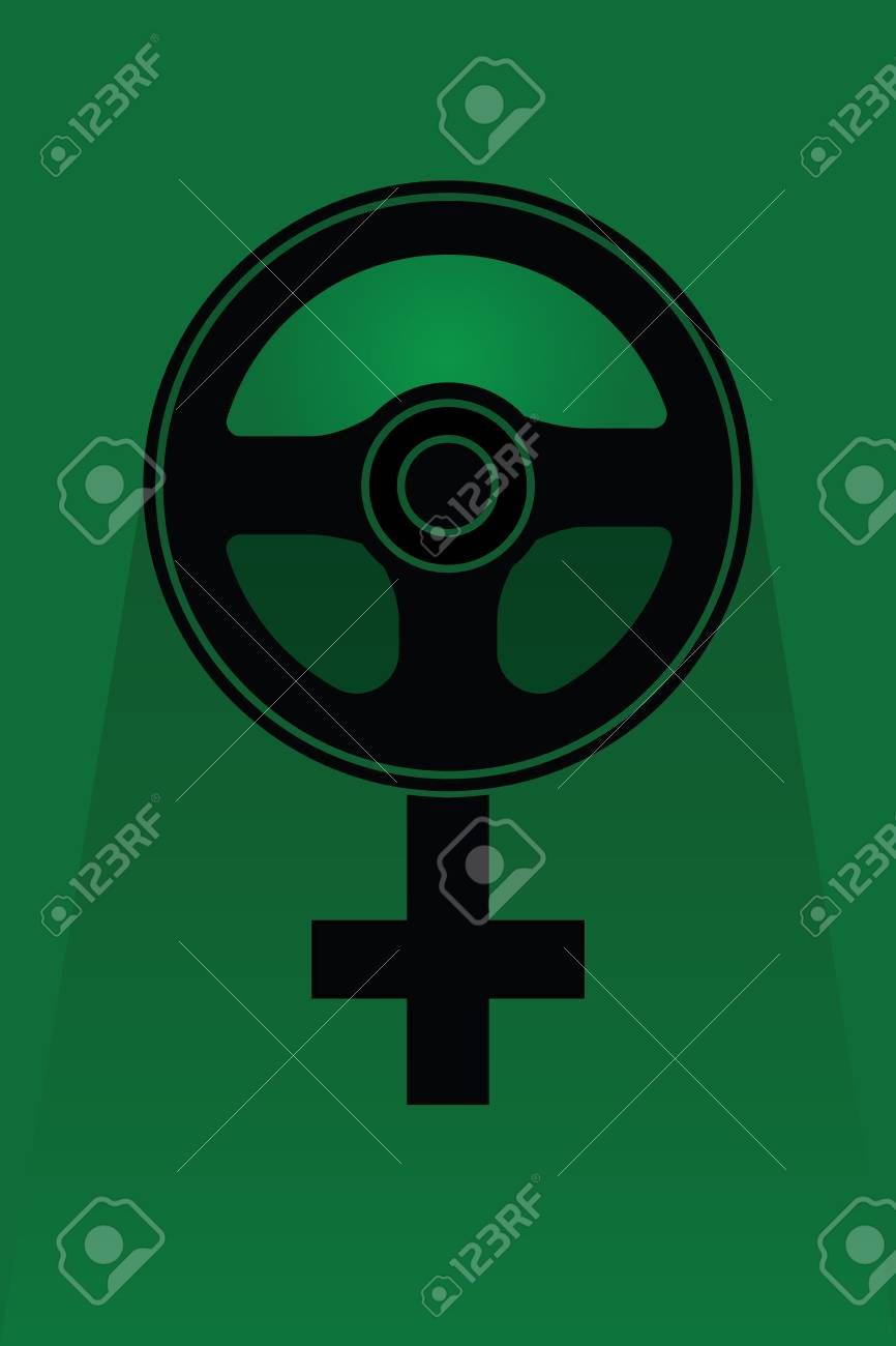 SAUDI ARABIA, MIDDLE EAST, 27 September 2017 - In celebration of woman finally being allowed to drive in Saudi Arabia. Stock Photo - 89387998