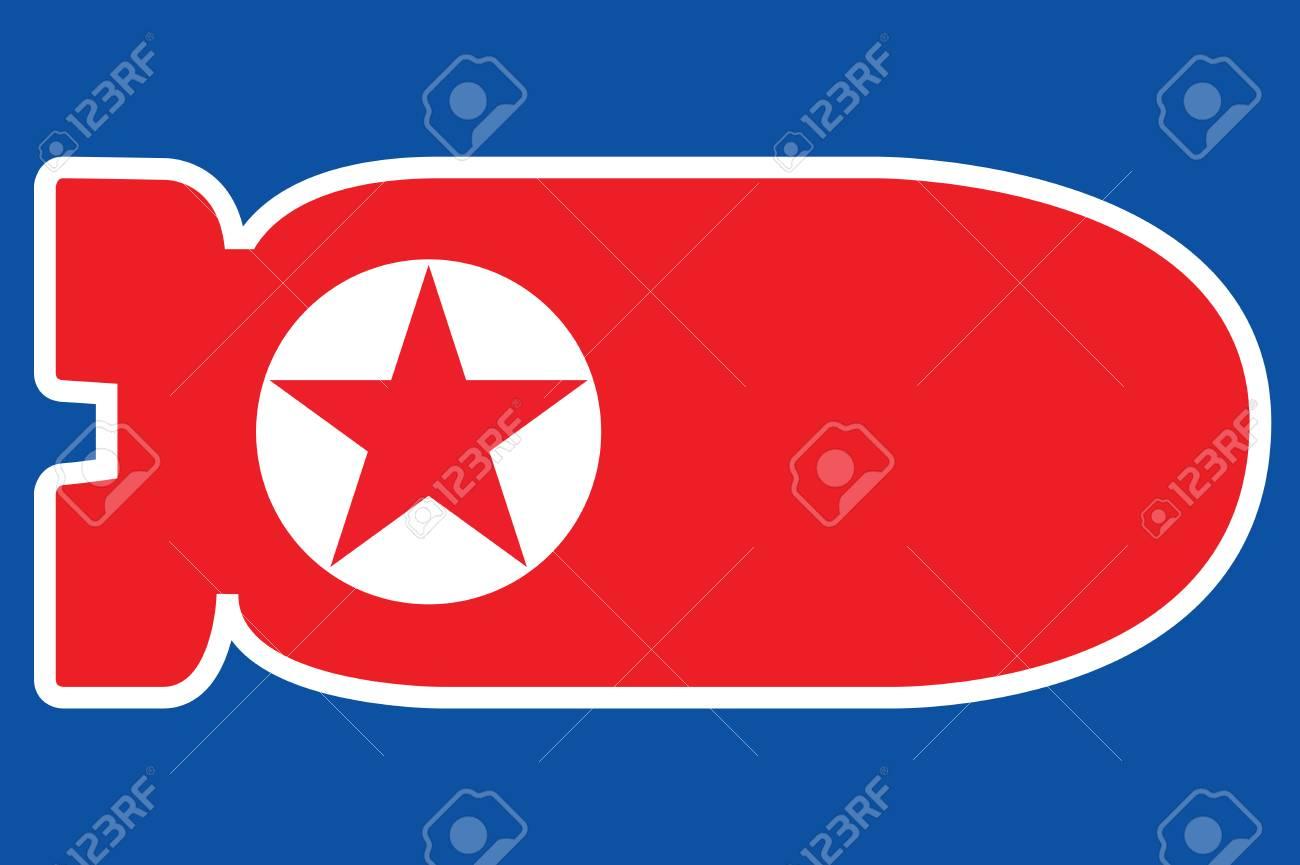 PYONGYANG, NORTH KOREA, 28 November 2017 - North Korea launches Ballistic Missile. Stock Photo - 91221410
