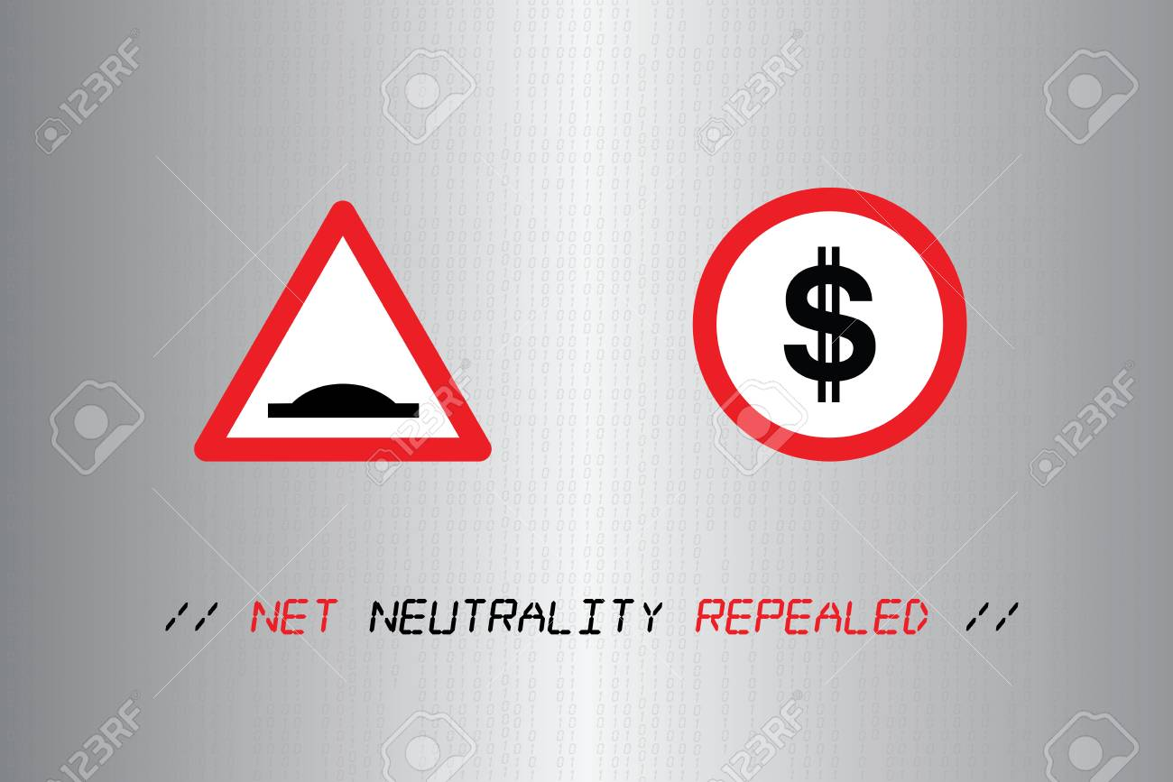 USA, 14 December 2017 - Net Neutrality rules repealed by U.S. government Stock Photo - 91926054