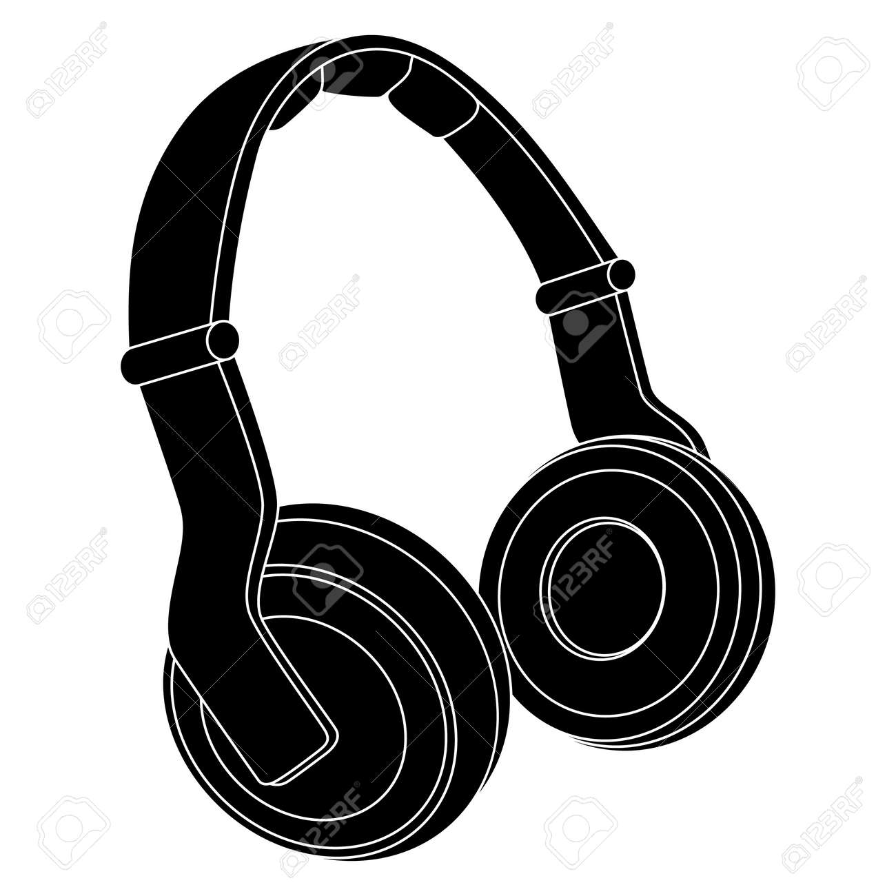 headphones vector illustration royalty free cliparts vectors and rh 123rf com headphones vector image headphones vector freepik