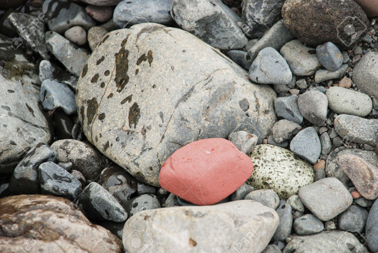 stones on the shore of the river Stock Photo - 16892721