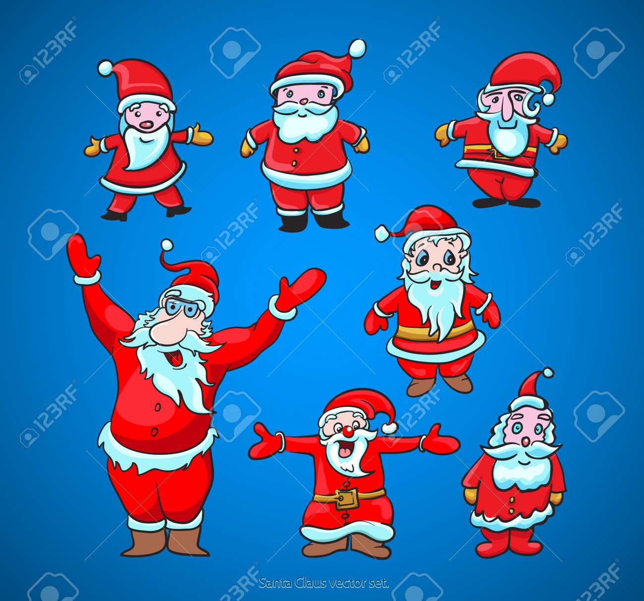 Santa Claus cute christmas vector Stock Vector - 11204960