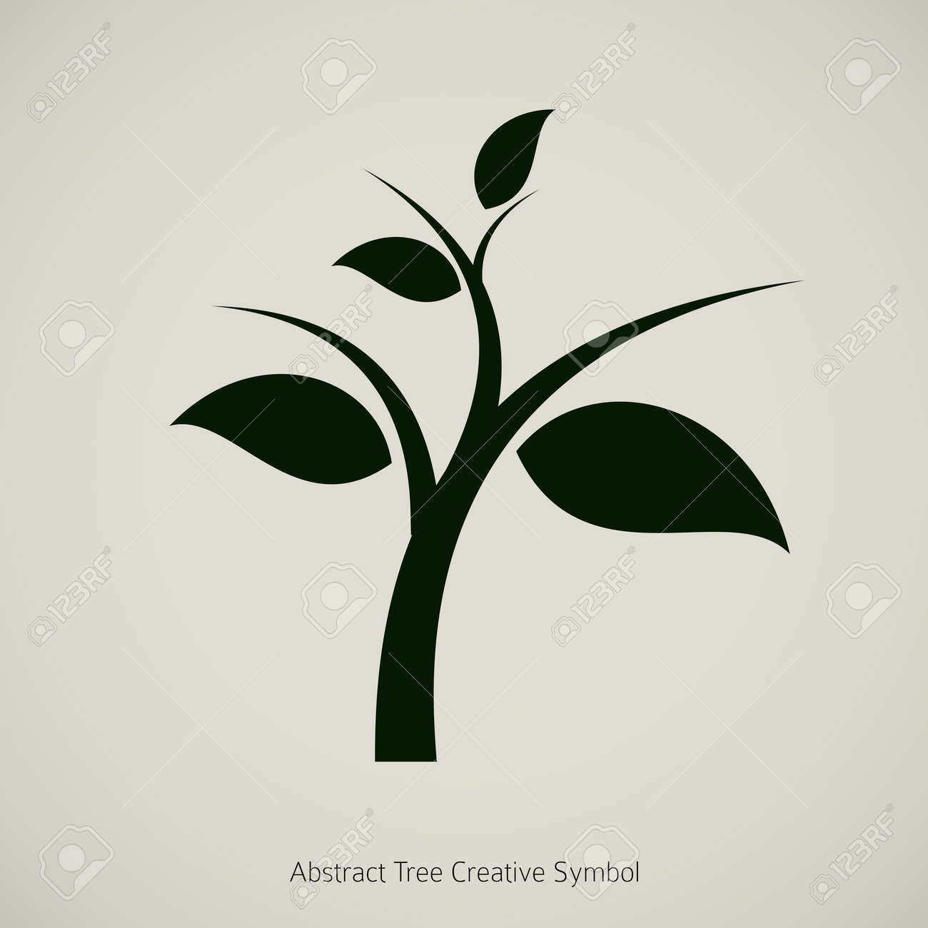 Tree Plant Illustration Nature Abstract Design Symbol Royalty Free Cliparts Vectors And Stock Illustration Image 14274187