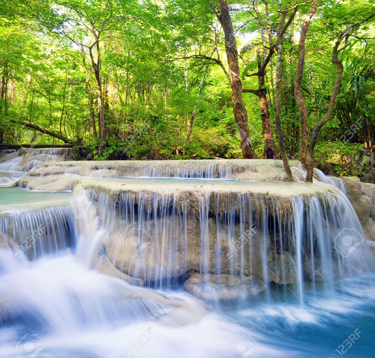 Waterfall Landscape Background Beautiful Nature Outdoor Photography Stock Photo Picture And Royalty Free Image Image 29488031