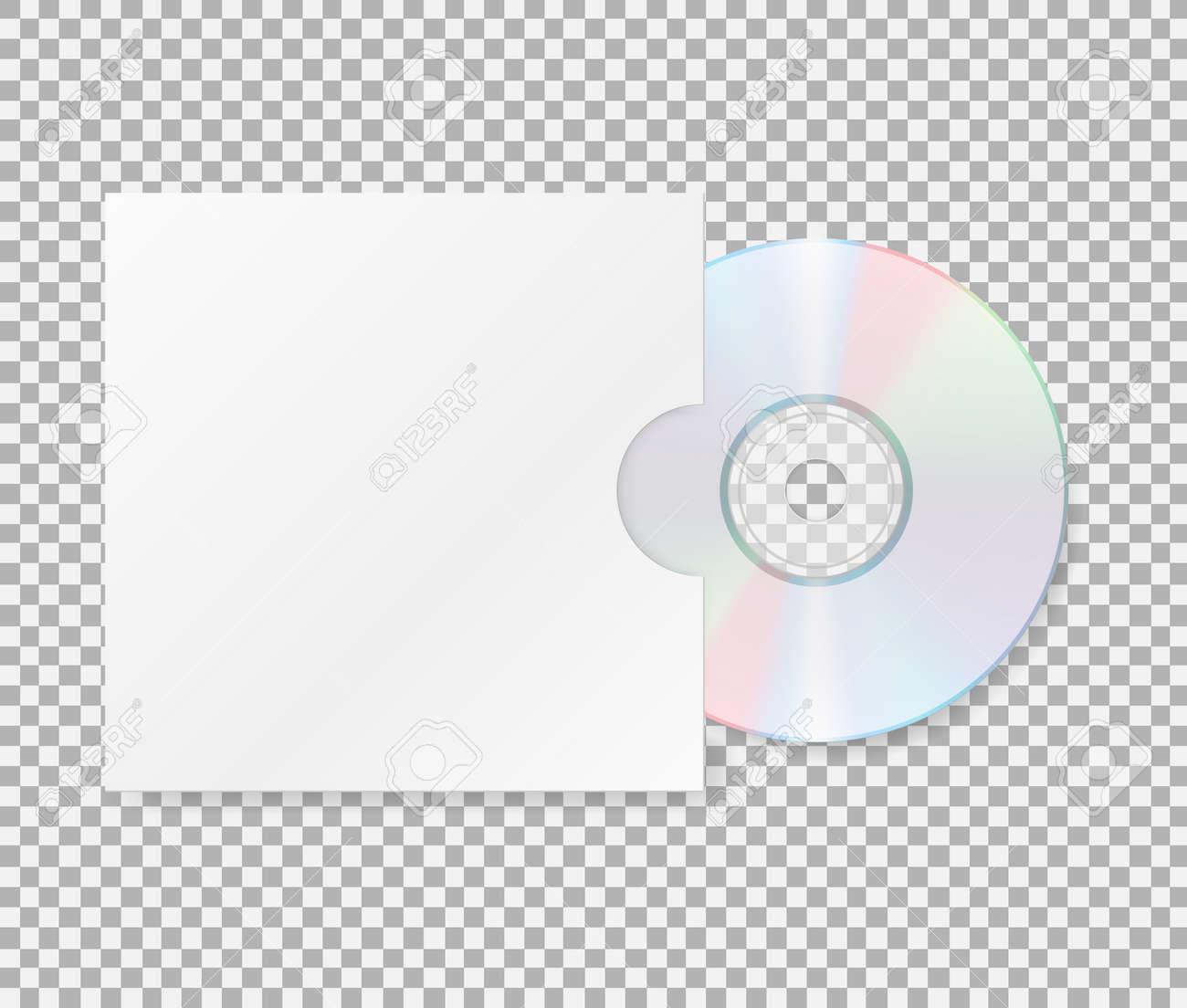 カバー付きのリアルな cd cd dvd ディスクのクローズ アップ カバーの