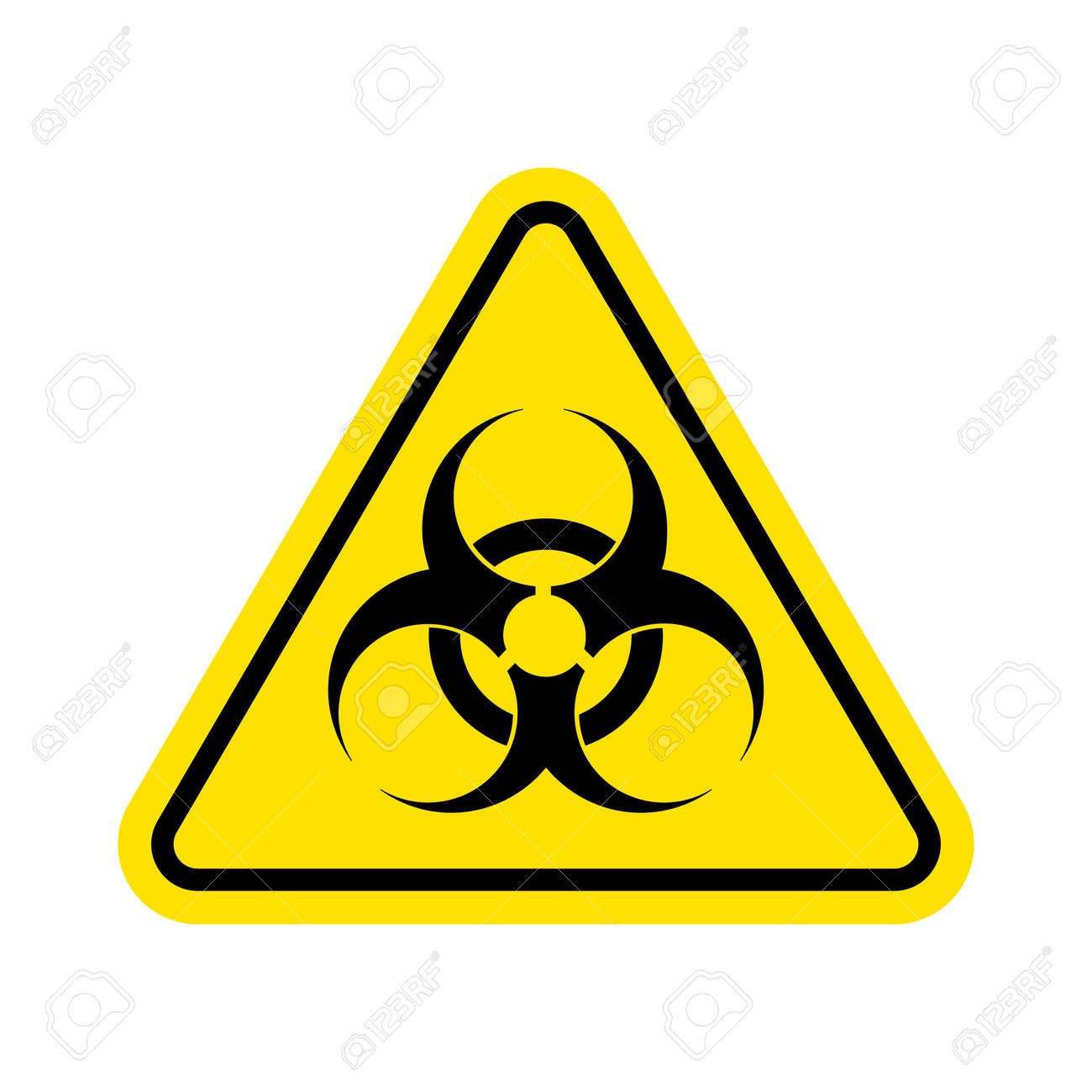 Warning sign of virus biohazard icon biohazard symbol isolated warning sign of virus biohazard icon biohazard symbol isolated on white background biocorpaavc Images