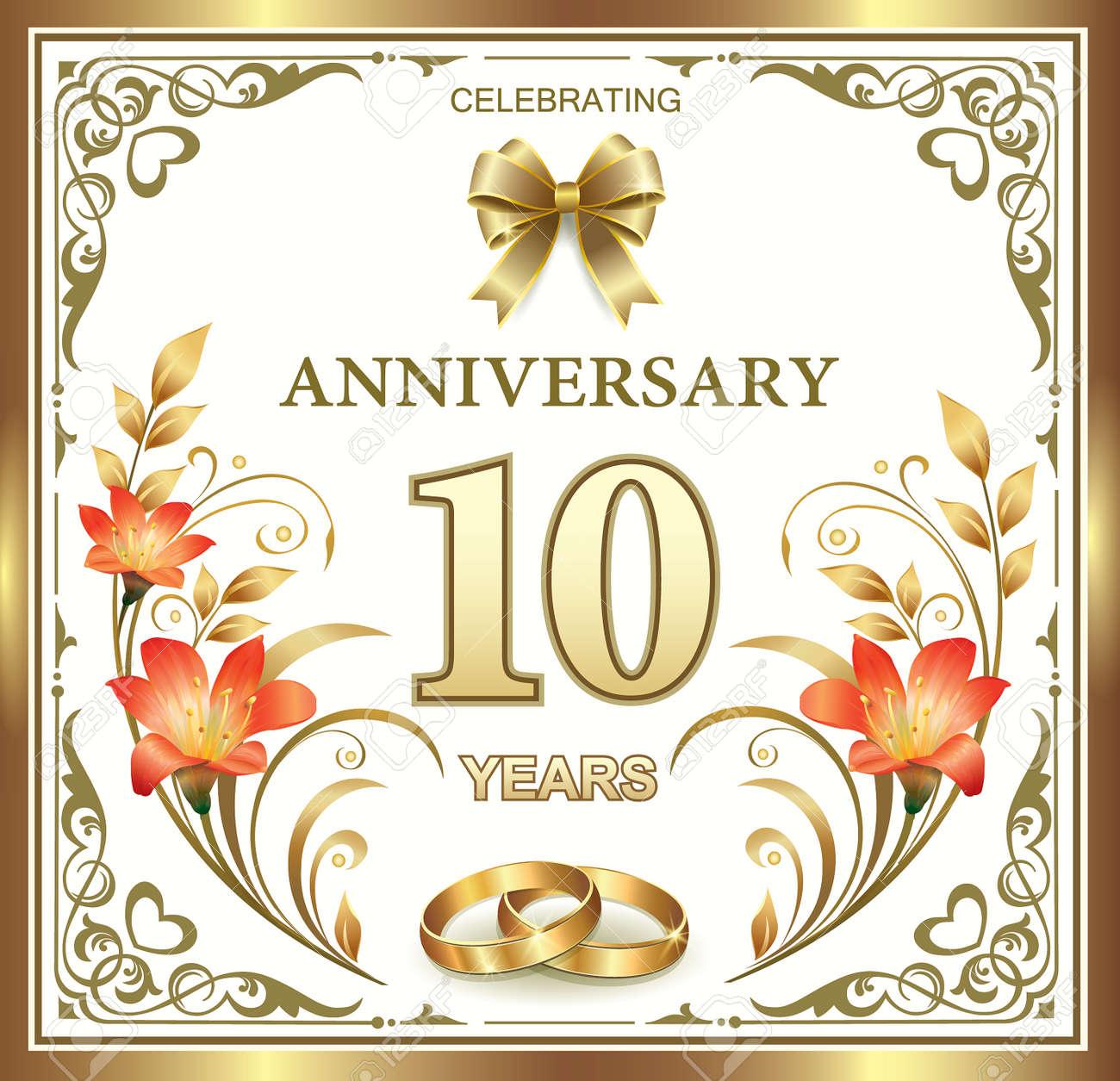 10 Year Wedding Anniversary.10 Year Wedding Anniversary
