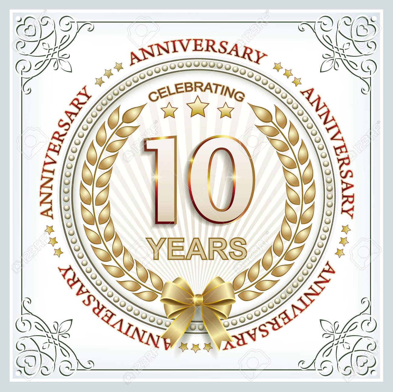 10 Year Wedding Anniversary.Wedding Anniversary 10 Years