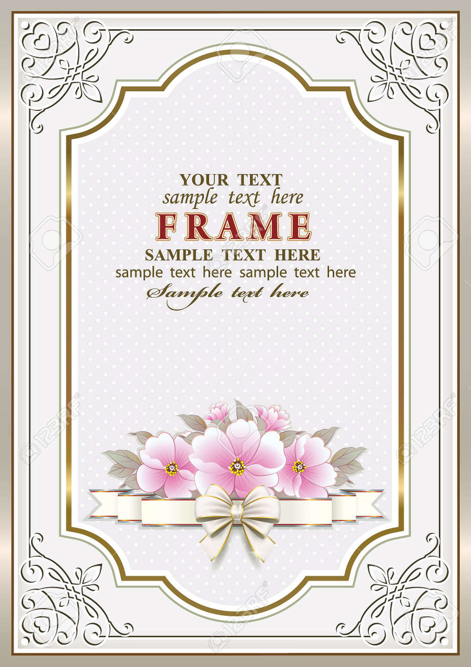 Birthday greeting card with flowers royalty free cliparts vectors birthday greeting card with flowers stock vector 82914693 izmirmasajfo
