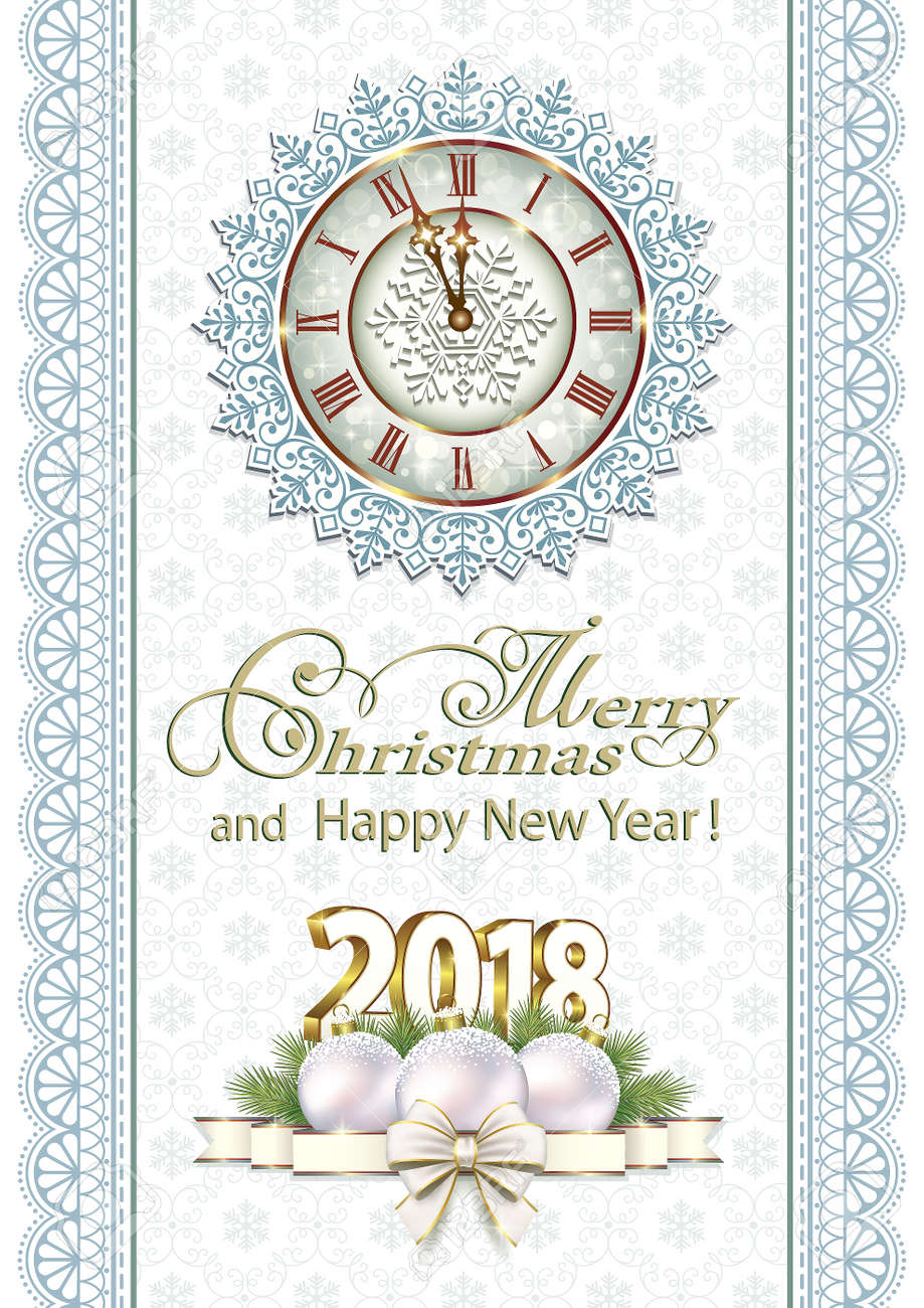 merry christmas and happy new year banner stock vector 91315067