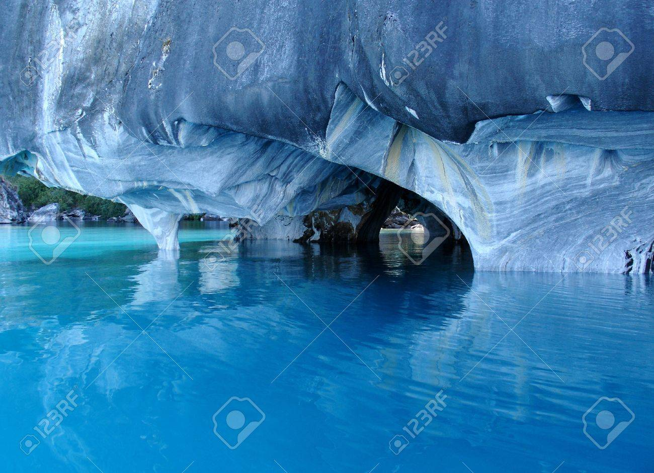 Marble Caves General Carrera Lake Chile Stock Photo Picture And Royalty Free Image Image 20327059