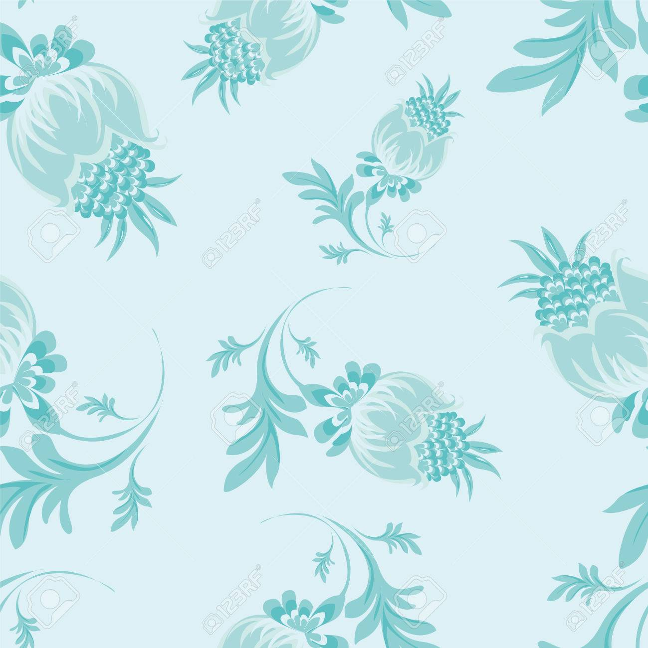 seamless floral patterns - 27552723