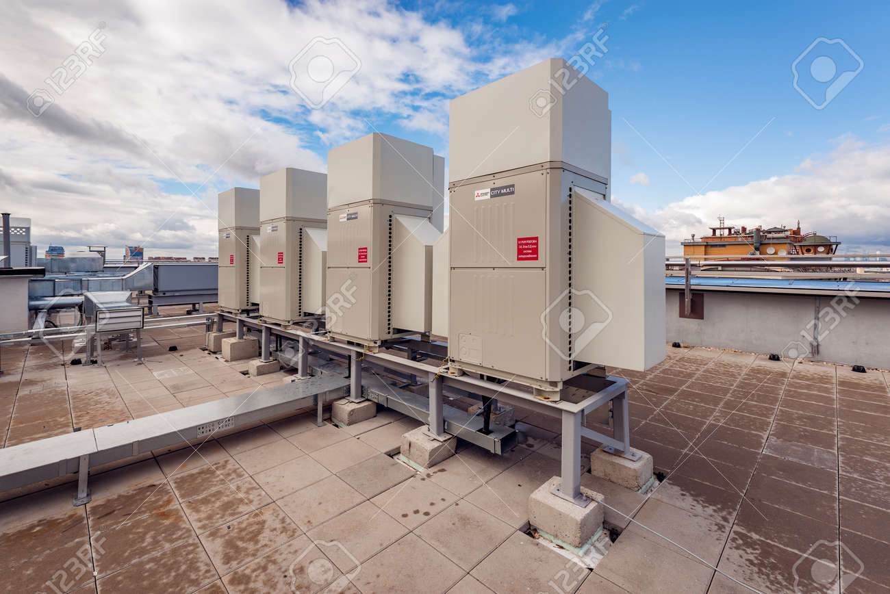 Installation of air conditioning in Moscow 41