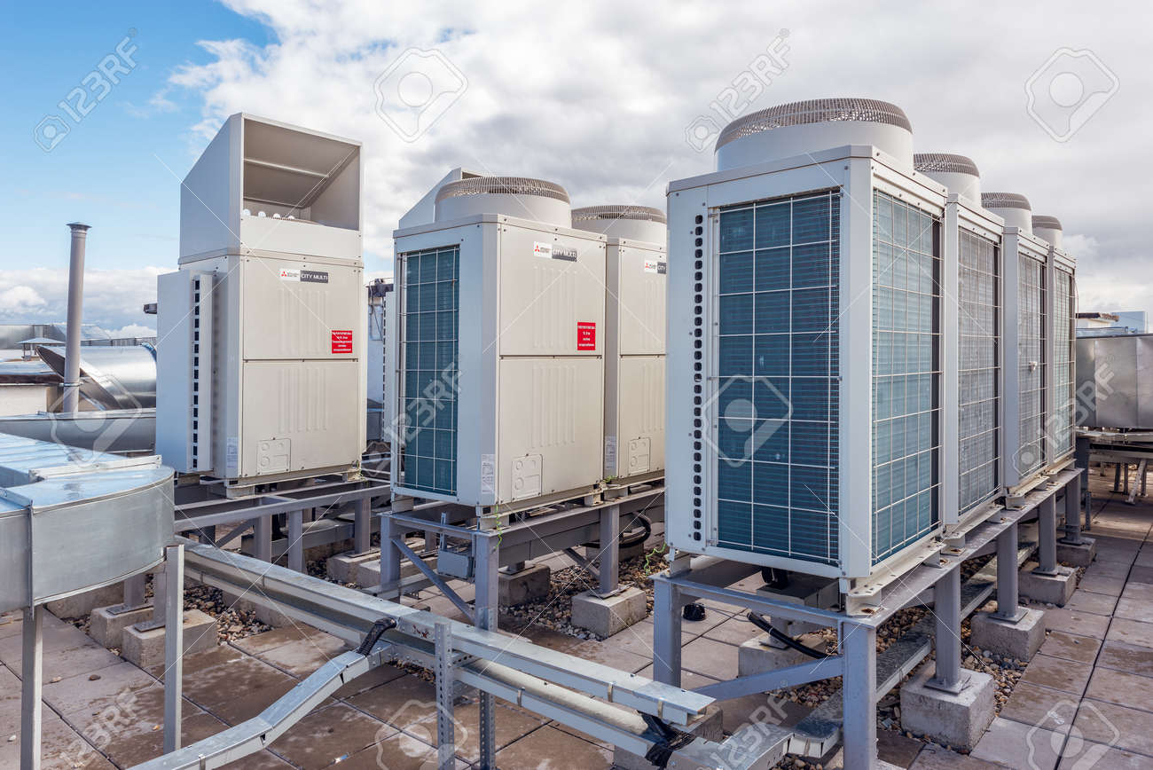 Installation of air conditioning in Moscow 60