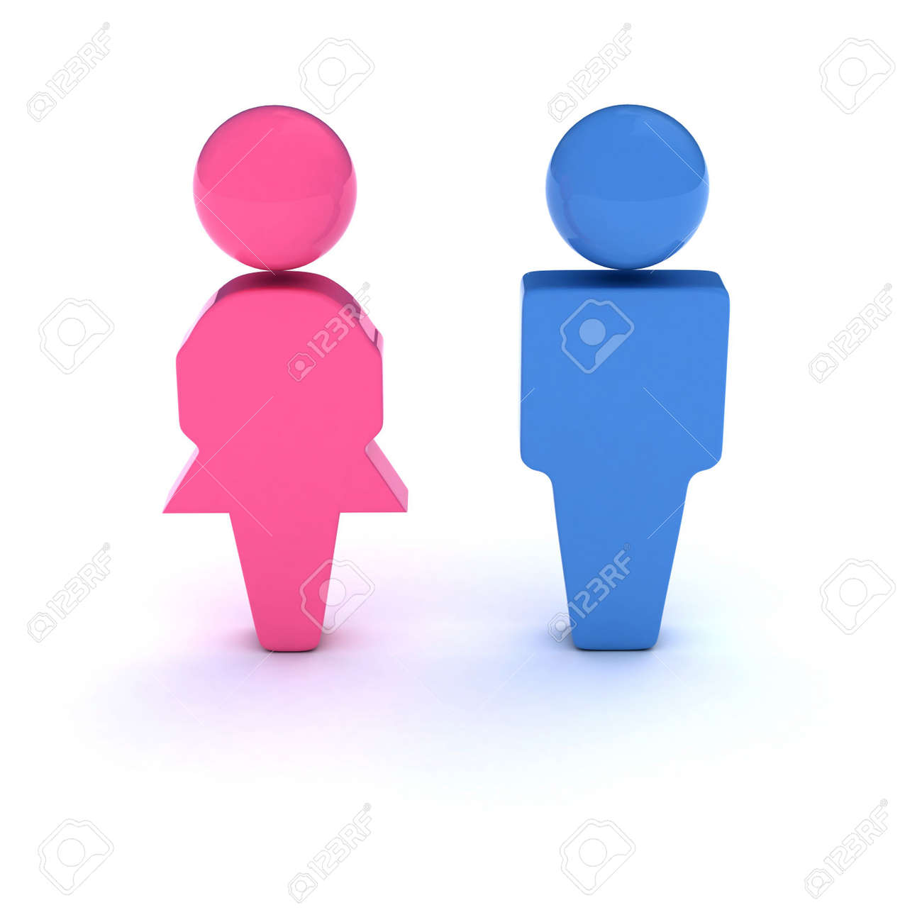 Bathroom Signs Holding Hands men and women symbol. a 3d symbol of a couple (bathroom signs