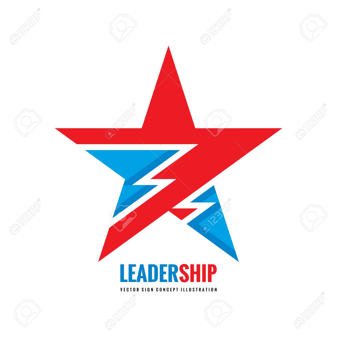 Star Vector Logo Template Concept Illustration Leadership