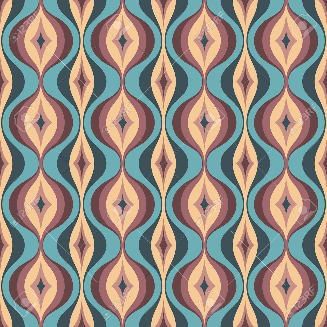 Mid Century Modern Art Vector Background Abstract Geometric Royalty Free Cliparts Vectors And Stock Illustration Image 128889071