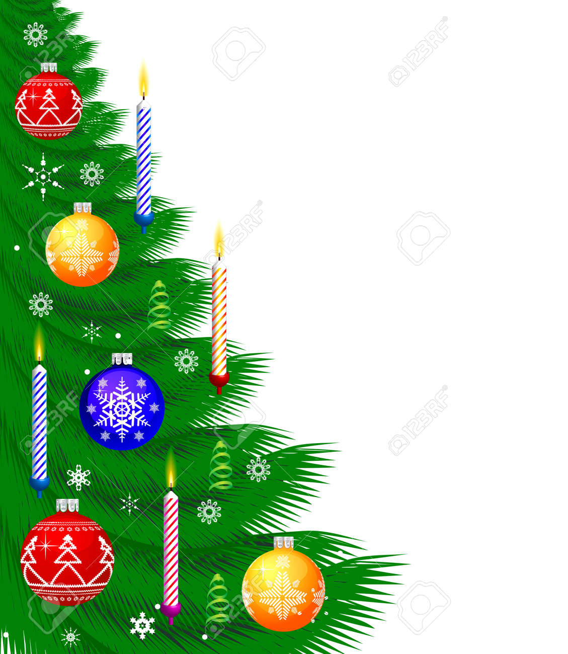 Christmas Background Stock Vector - 8285758