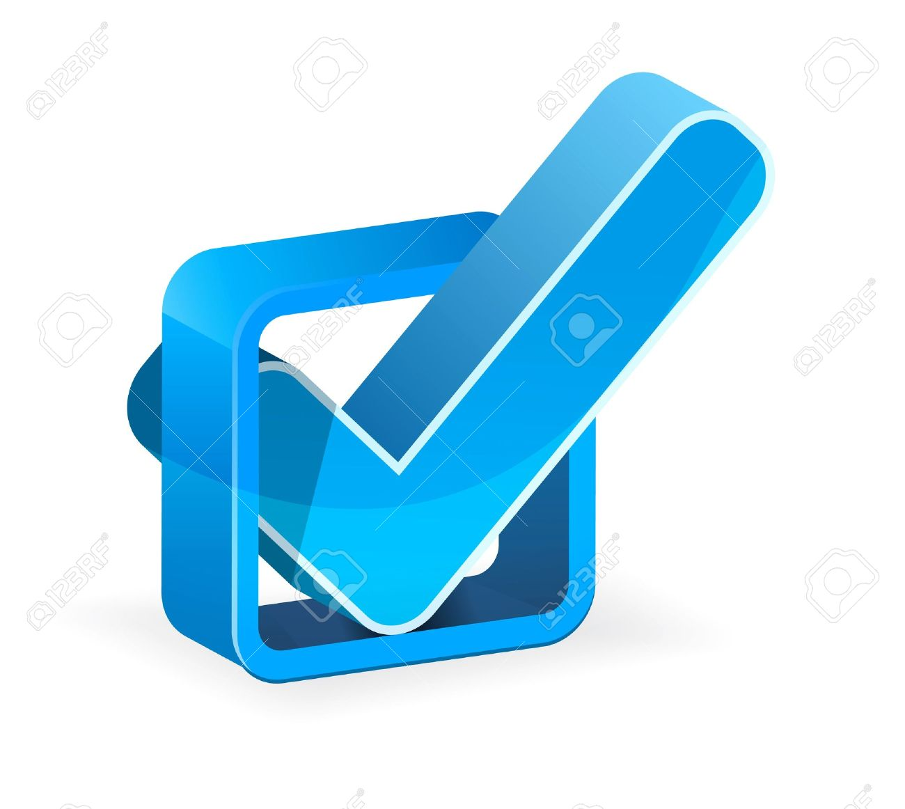 Blue check box with check mark royalty free cliparts vectors and blue check box with check mark stock vector 8285761 biocorpaavc