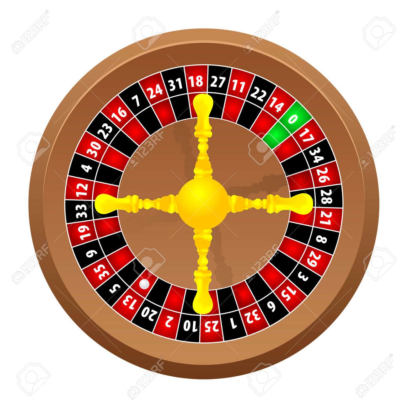 roulette casino Stock Vector - 8885790