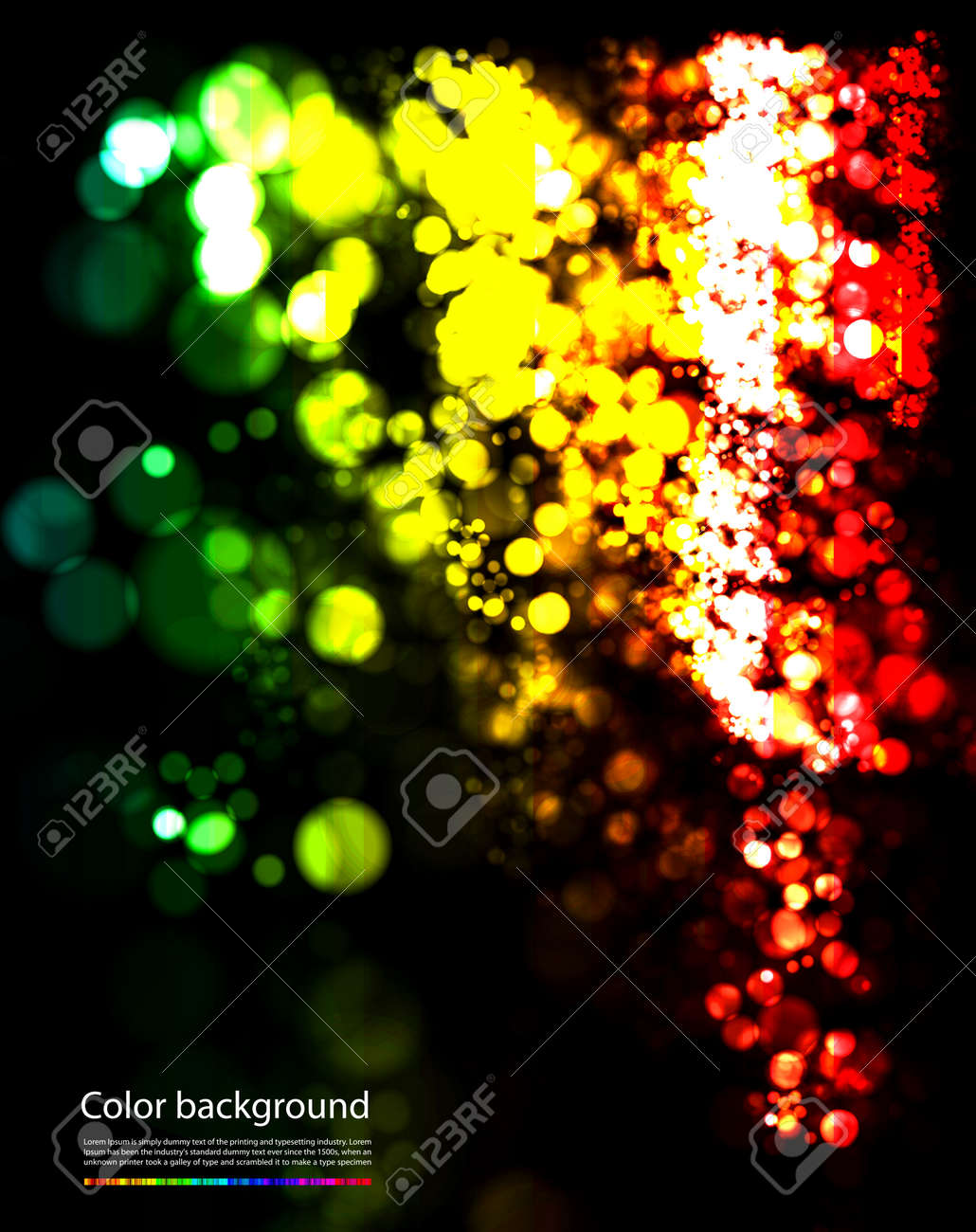 abstract glowing background Stock Vector - 8976815