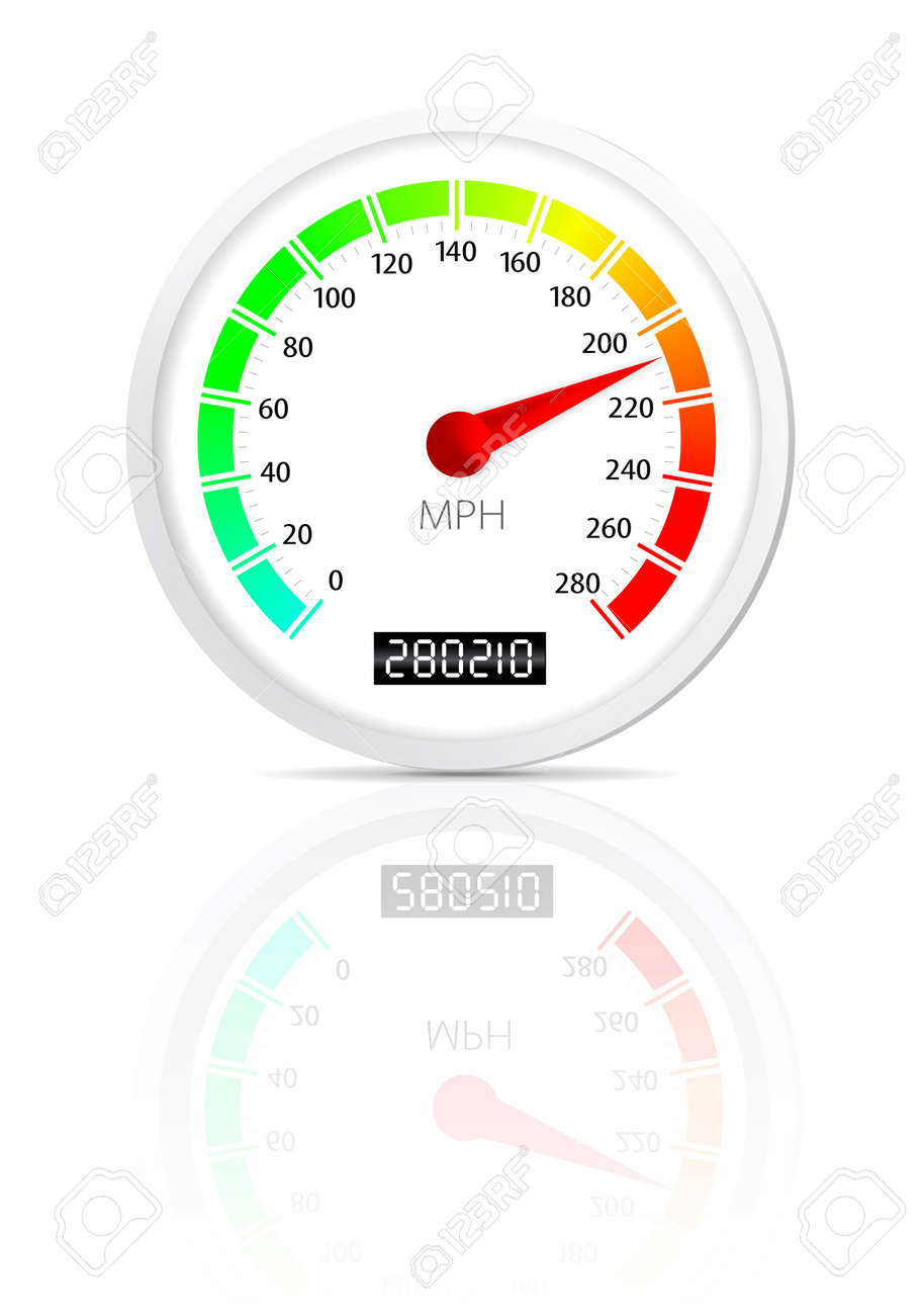 Speedometer Stock Vector - 9438761