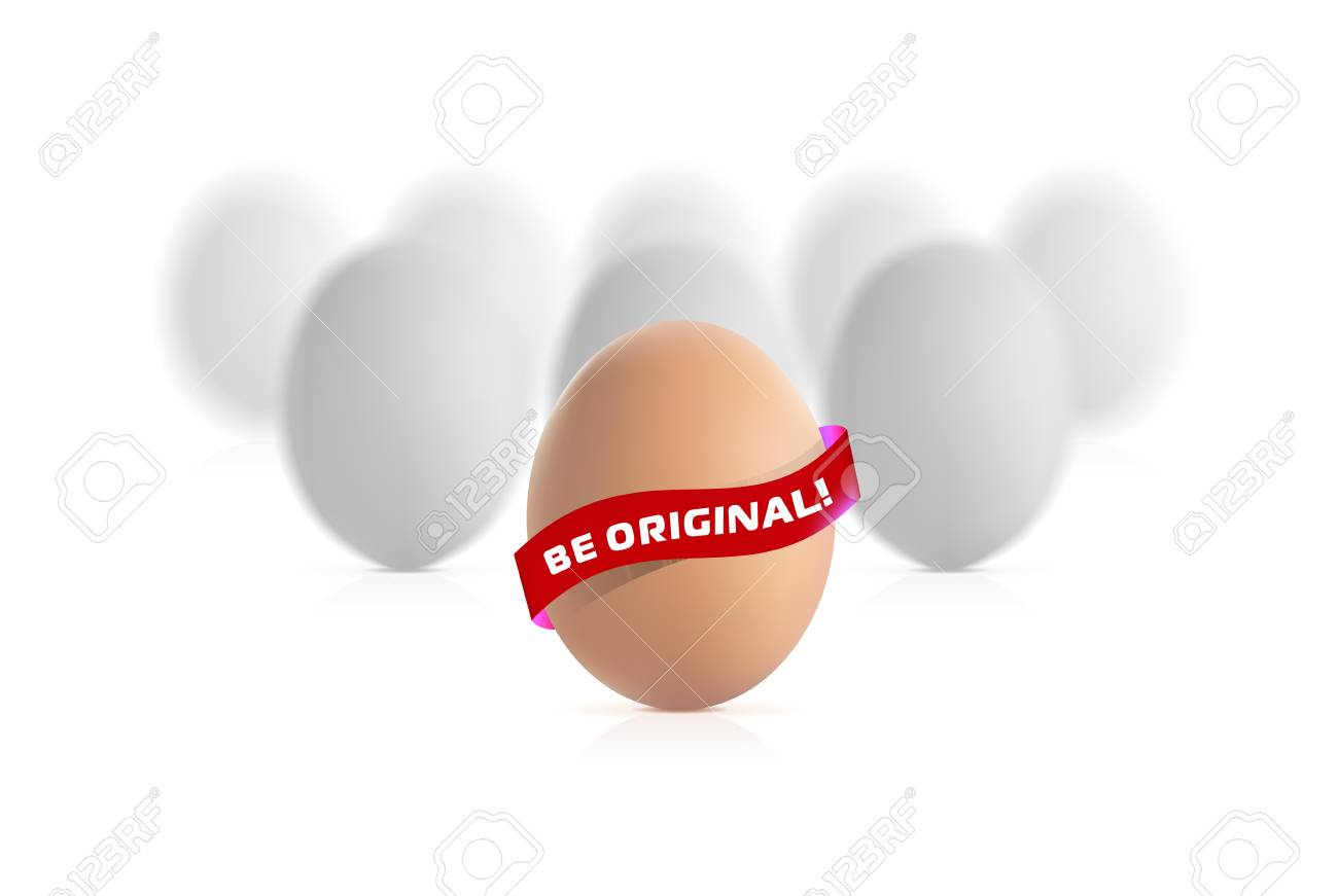 Egg illustration Stock Vector - 9438765