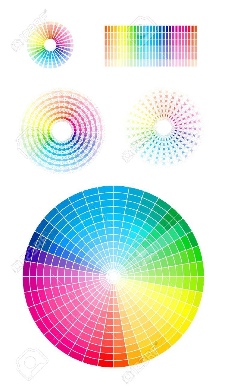 Color Wheel Royalty Free Cliparts Vectors And Stock Illustration