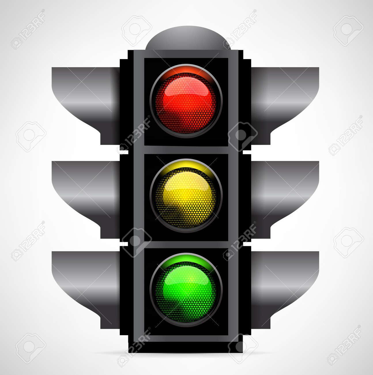 traffic lights Stock Vector - 19569585