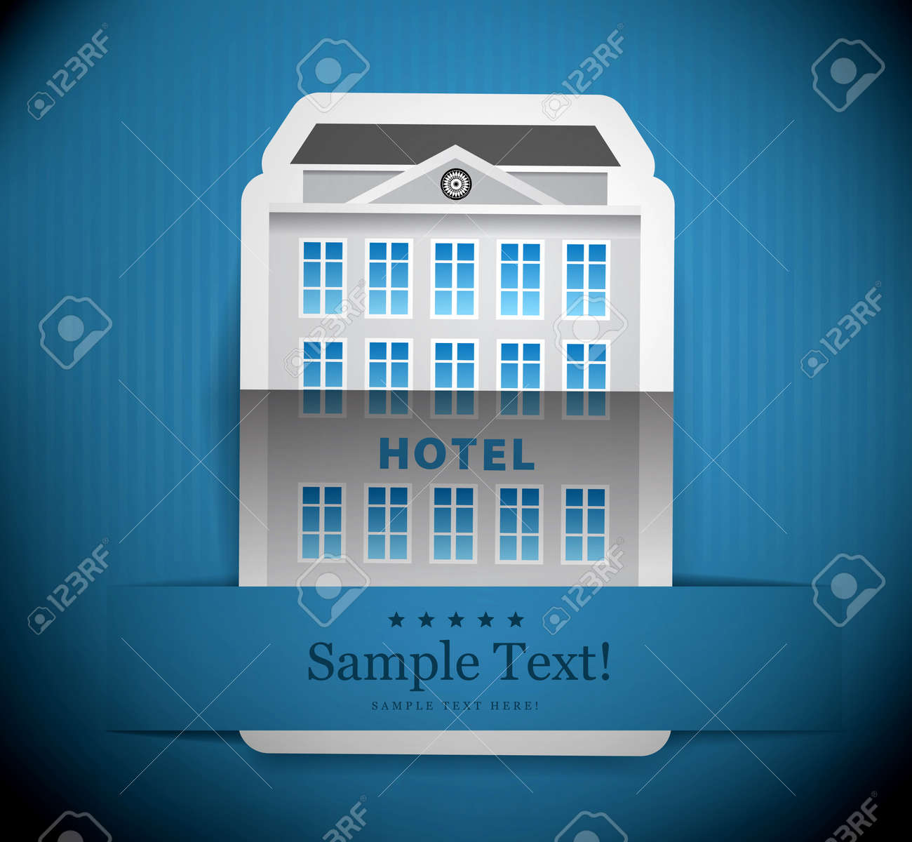 The building of hotel Stock Photo - 20882915