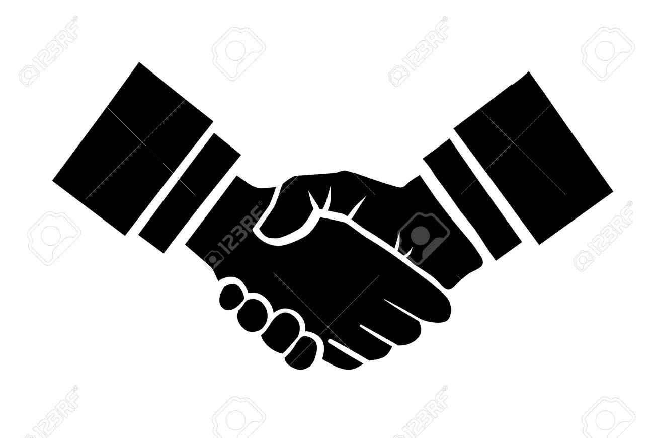 handshake vector illustration background for business and finance rh 123rf com handshake vector icon free download vector handshake free download