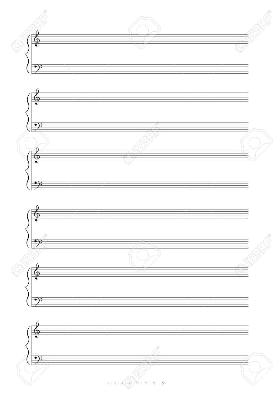Beautiful Blank Anmelden Noten Image - FORTSETZUNG ARBEITSBLATT ...