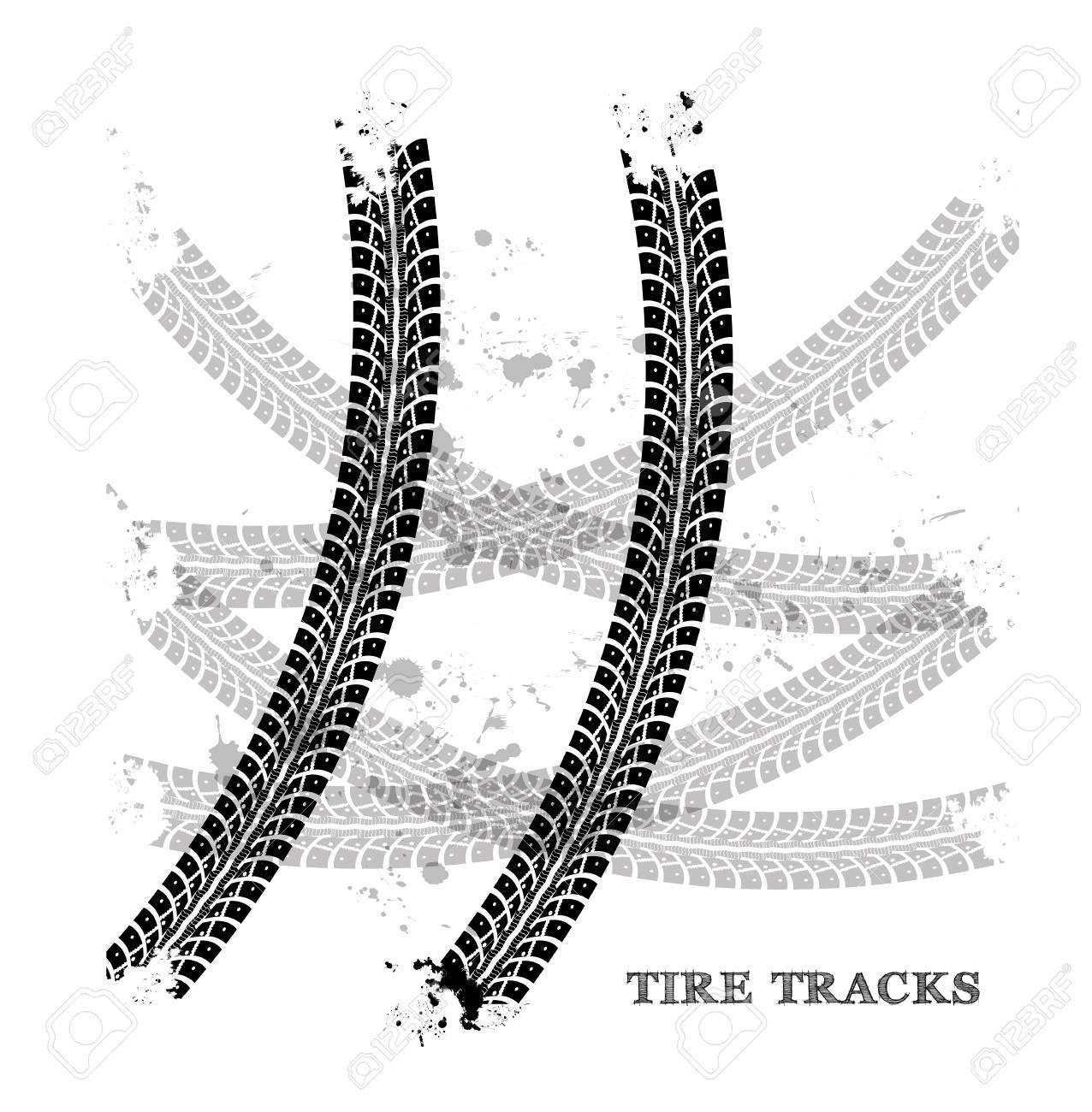 Tire tracks - 30147696