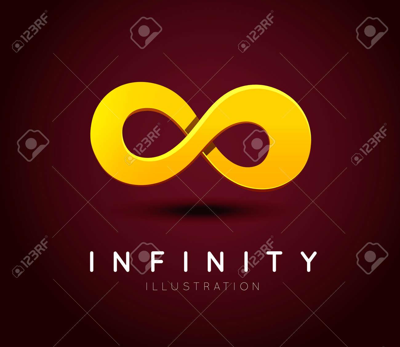 El Símbolo Del Infinito Ilustraciones Vectoriales Clip Art