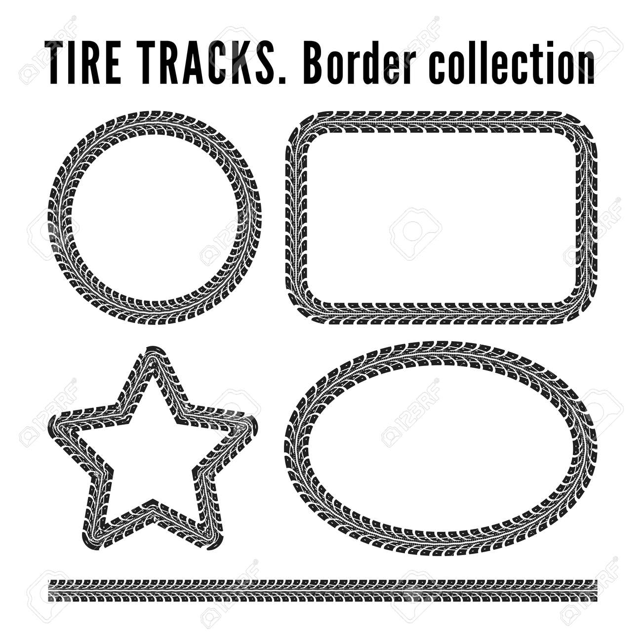 Tire tracks - 31905092