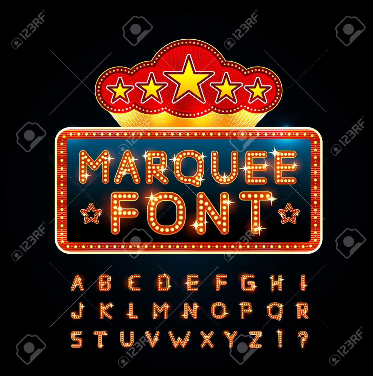 Retro font - 34742142