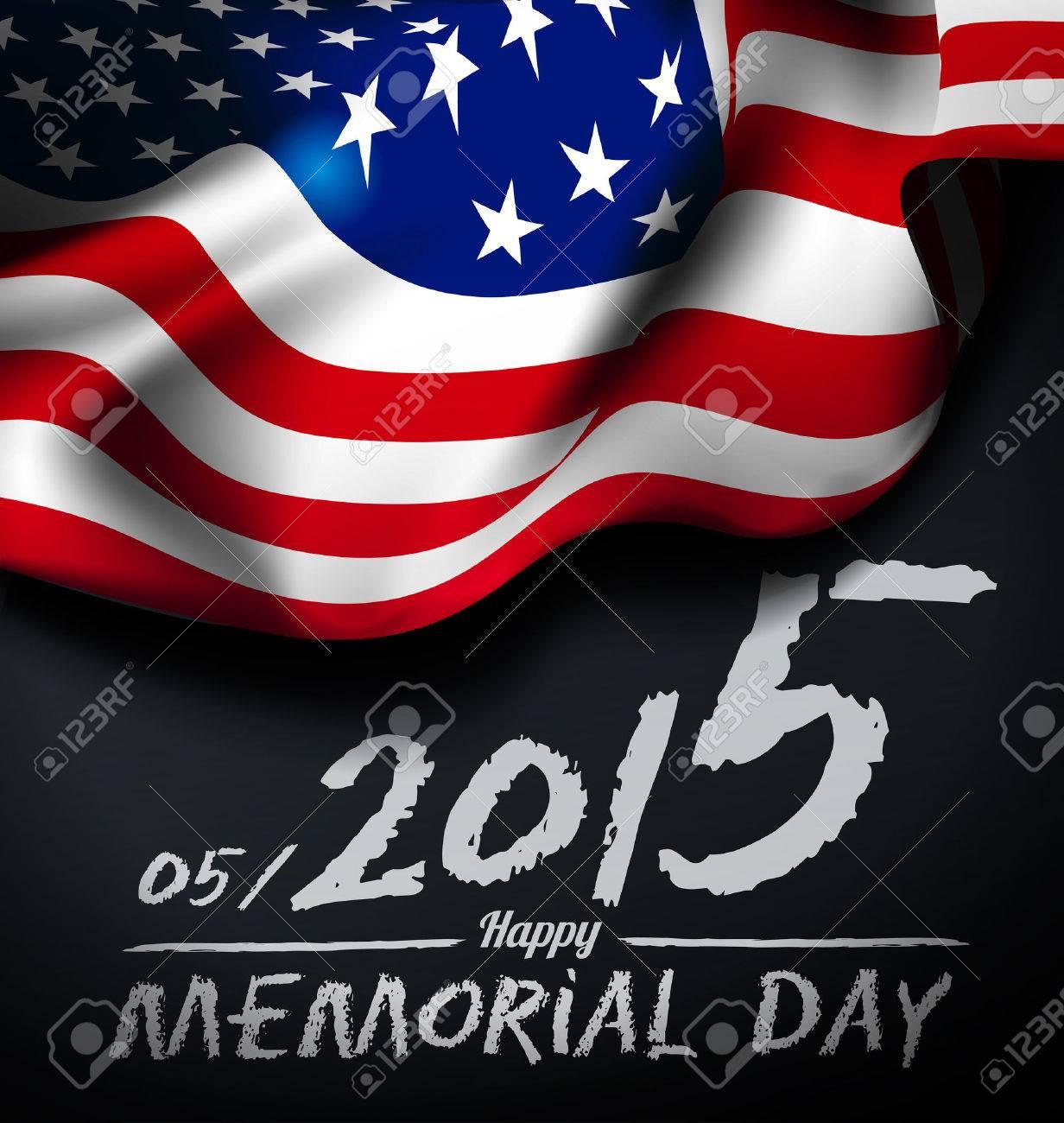 Memorial day illustration - 37398283