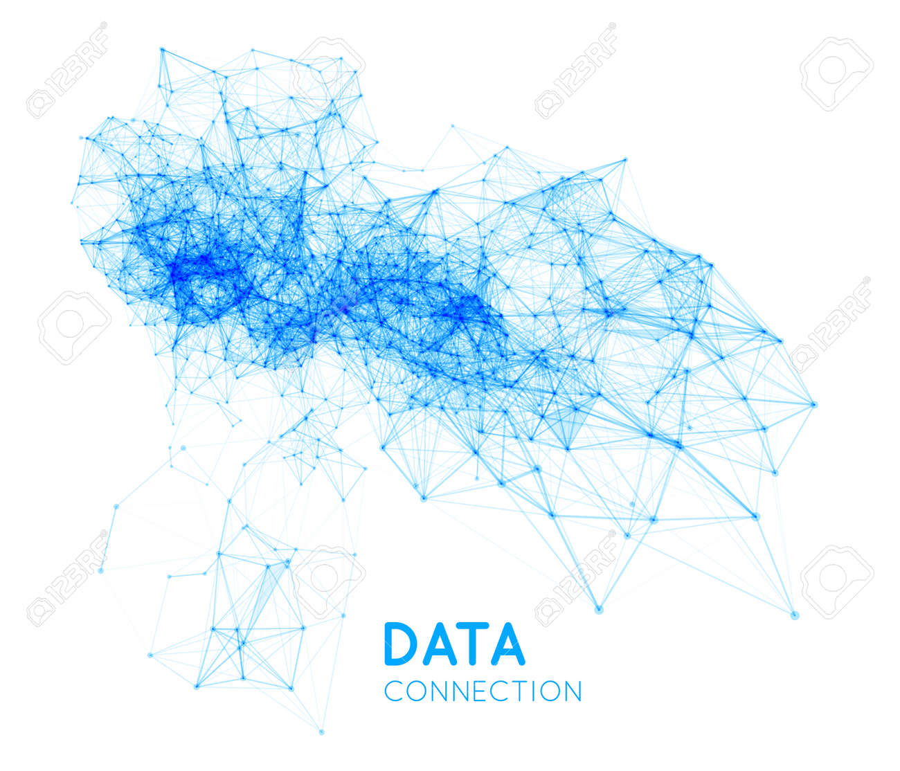 Abstract network connection background - 40622858