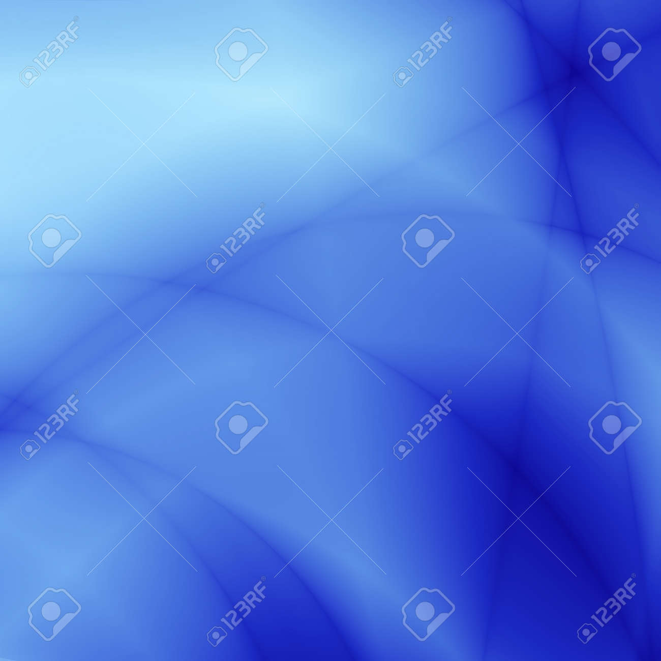 abstract smoothed lines and gradients of blue color Stock Photo - 1718583