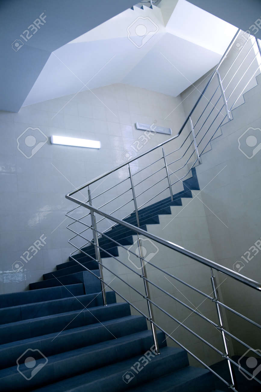 stairs in business building going on an next floor Stock Photo - 5179998