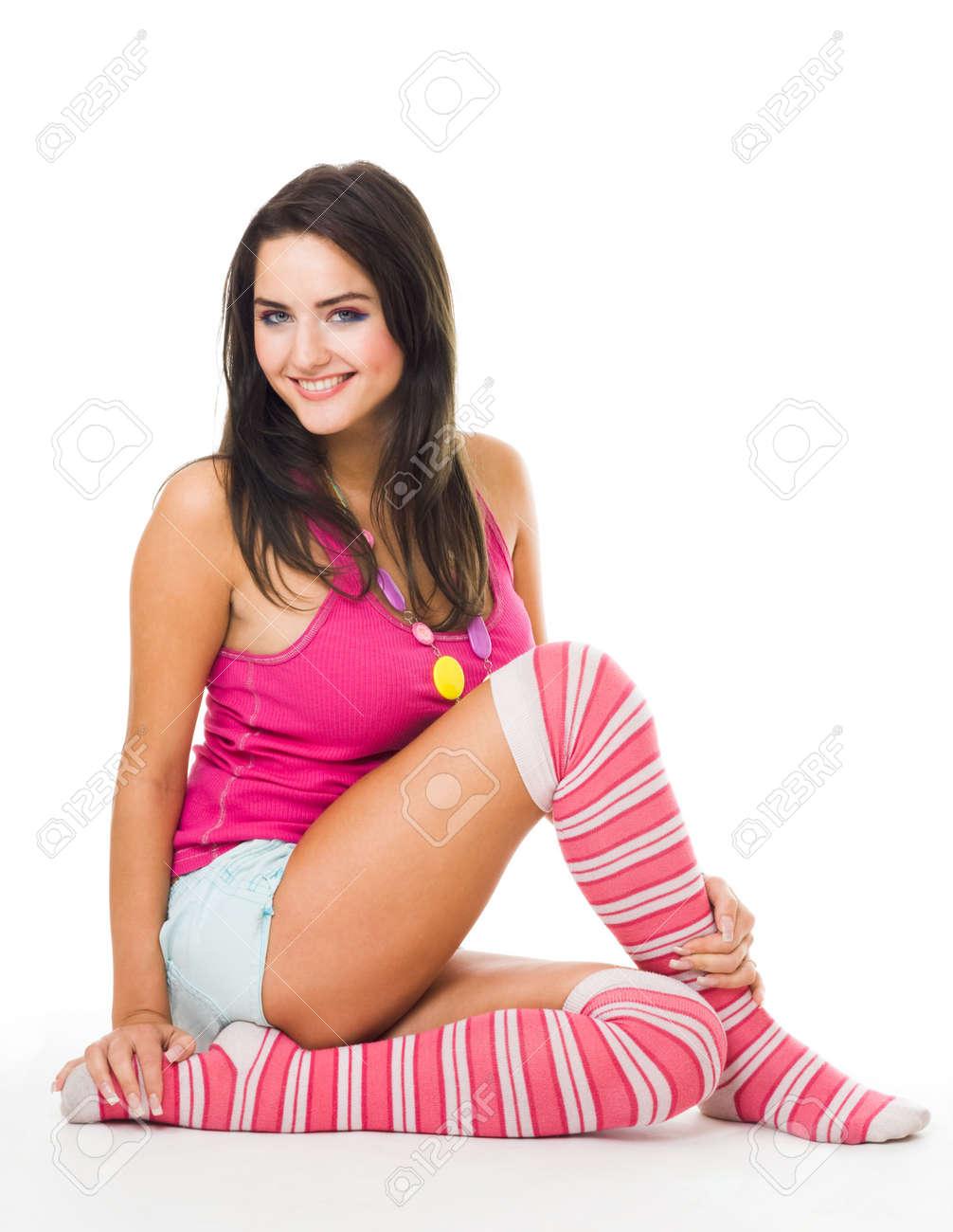 Фото девочек в носочках 5 фотография