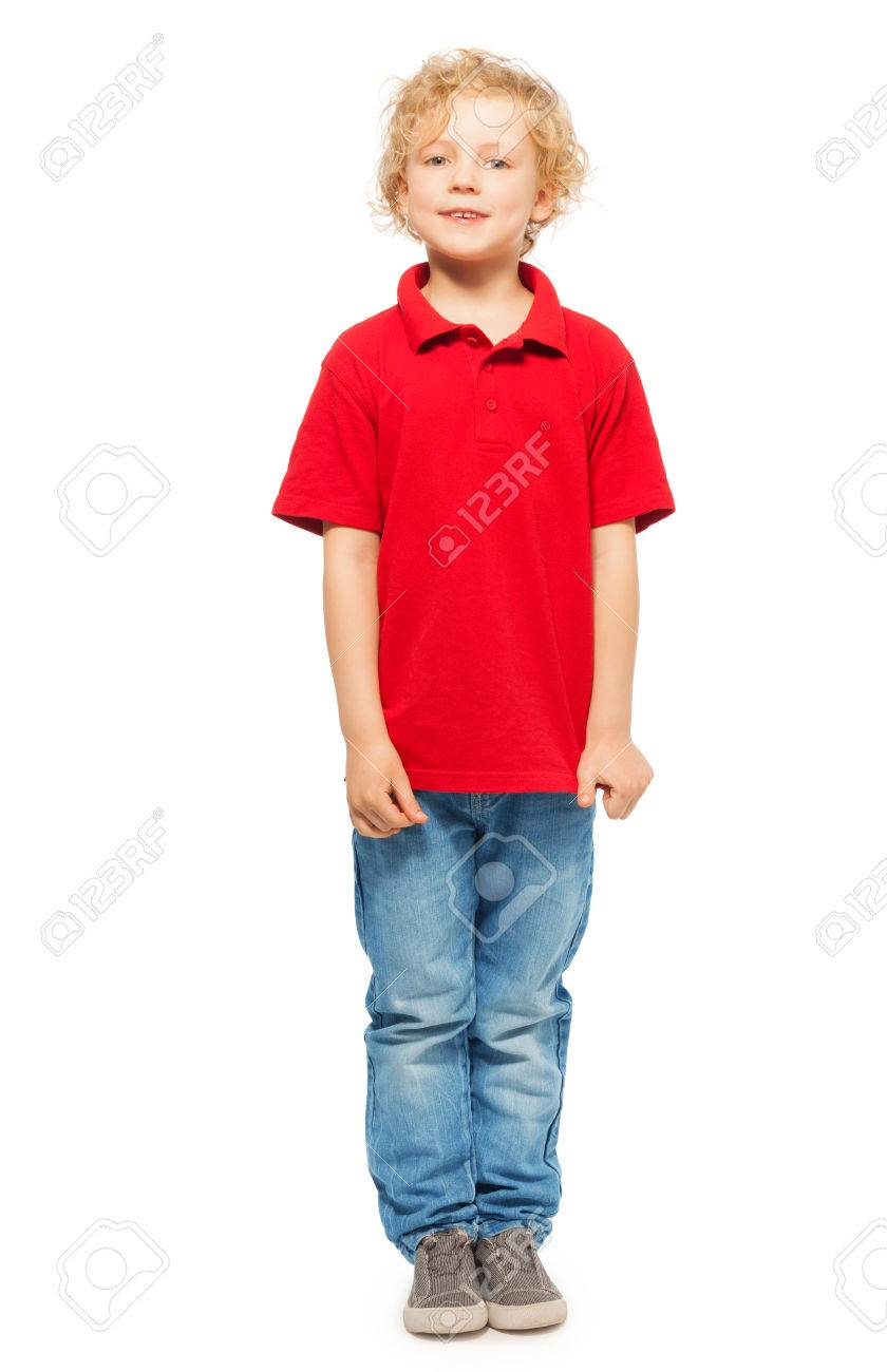 Red Polo Shirt For Toddler Boy