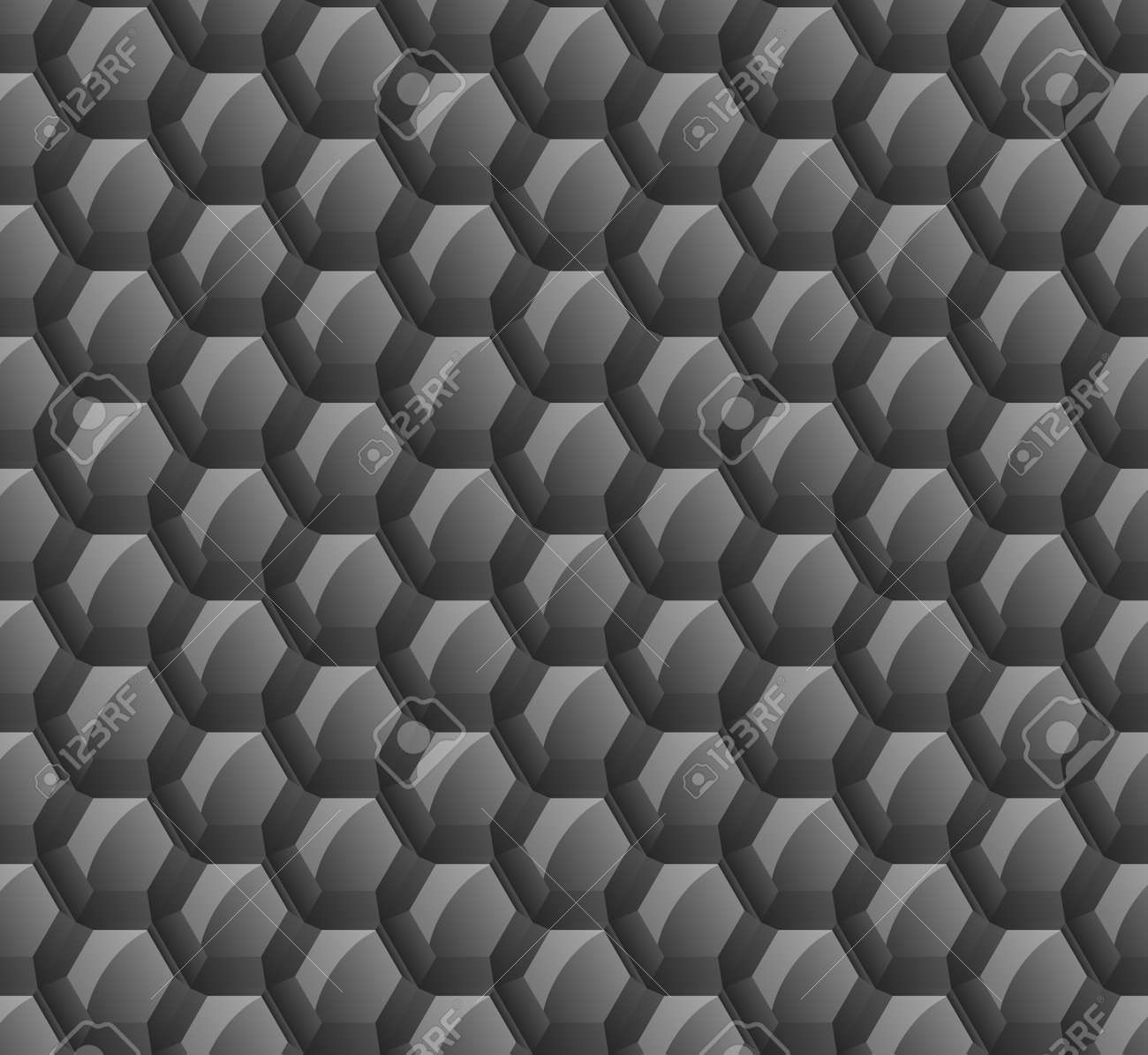 abstract background of black hexagons. wallpapers for web sites