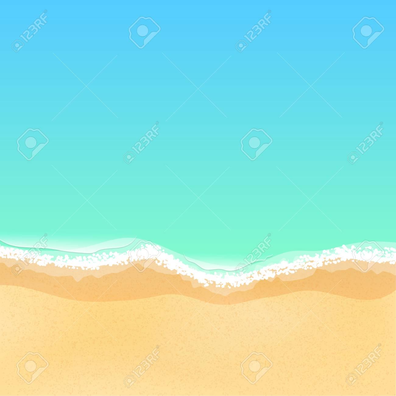 Top view of a cartoon sea beach bright sandy beach sea tide top view of a cartoon sea beach bright sandy beach sea tide sea voltagebd Choice Image